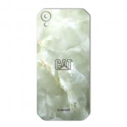 برچسب تزئینی ماهوت مدل Marble-light Special مناسب برای گوشی CAT S41 (سبز روشن)