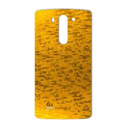 برچسب تزئینی ماهوت مدل  Gold-pixel Special مناسب برای گوشی LG G3 Beat (بی رنگ)