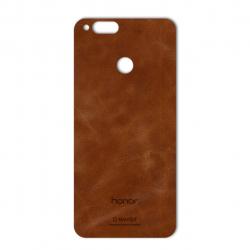 برچسب تزئینی ماهوت مدل Buffalo Leather مناسب برای گوشی Huawei Honor 7X (بی رنگ)