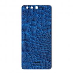 برچسب تزئینی ماهوت مدل Crocodile Leather مناسب برای گوشی  Huawei P10 Plus (سبز)