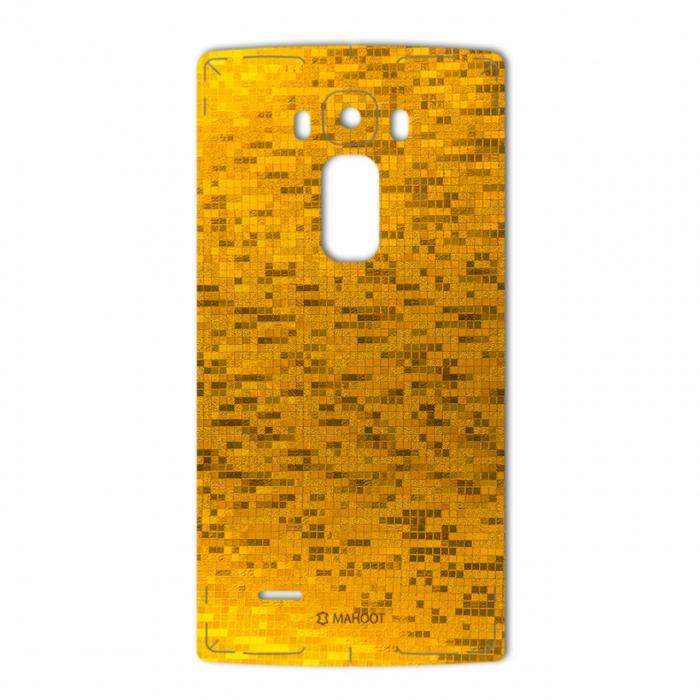 برچسب تزئینی ماهوت مدل  Gold-pixel Special مناسب برای گوشی LG G Flex 2