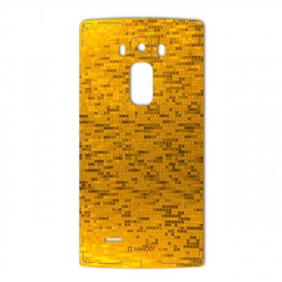 برچسب تزئینی ماهوت مدل  Gold-pixel Special مناسب برای گوشی LG G Flex 2 (بی رنگ)