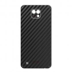 برچسب تزئینی ماهوت مدل Carbon-fiber Texture مناسب برای گوشی  LG X Cam (طلایی)