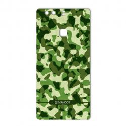 برچسب تزئینی ماهوت مدل Army-Pattern Design مناسب برای گوشی  Huawei P9 Plus (سبز)