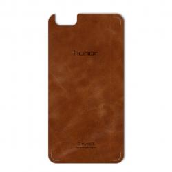برچسب تزئینی ماهوت مدل Buffalo Leather مناسب برای گوشی Huawei Honor 4X (بی رنگ)