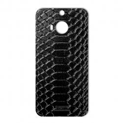 برچسب تزئینی ماهوت مدل Snake Leather مناسب برای گوشی  HTC M9 Plus (قهوه ای)
