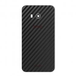 برچسب تزئینی ماهوت مدل Carbon-fiber Texture مناسب برای گوشی  HTC U11 (مشکی)