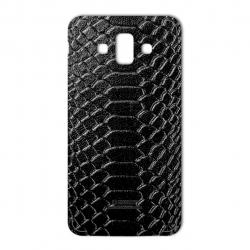 برچسب تزئینی ماهوت مدل Snake Leather مناسب برای گوشی  Samsung J7 Duo