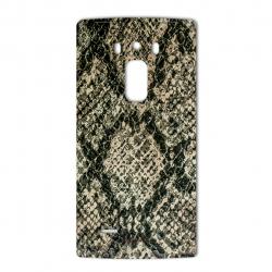 برچسب تزئینی ماهوت مدلJungle-python Texture مناسب برای گوشی  LG G Flex 2 (بی رنگ)