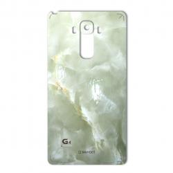برچسب تزئینی ماهوت مدل Marble-light Special مناسب برای گوشی  LG G4 Stylus (سبز روشن)