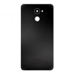 برچسب تزئینی ماهوت مدل Black-color-shades Special مناسب برای گوشی  Huawei Y7 Prime (نقرهای مات)