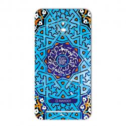 برچسب تزئینی ماهوت مدل Slimi design-tile Design مناسب برای گوشی  BlackBerry Aurora (آبی)