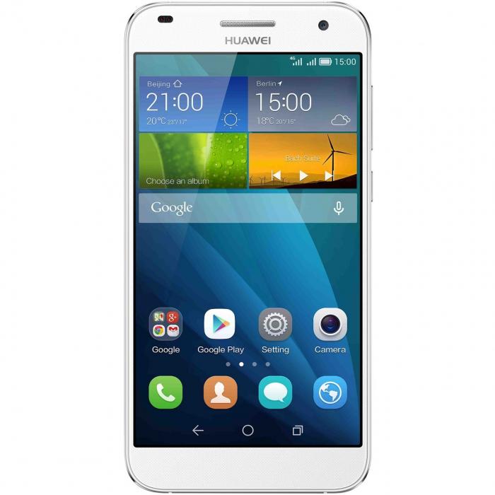 گوشی موبایل هوآوی مدل Ascend G7 دو سیمکارت