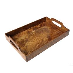 سینی چوبی تکی بلوط آرت