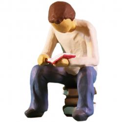 مجسمه امین کامپوزیت مدل جستجو کد 76 (چند رنگ)