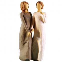 مجسمه امین کامپوزیت مدل خواهرمن دوست من کد 75 (چند رنگ)
