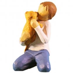 مجسمه امین کامپوزیت مدل مهربانی کد 93