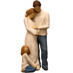 مجسمه امین کامپوزیت مدل Family Grouping کد529 بسته دو عددی