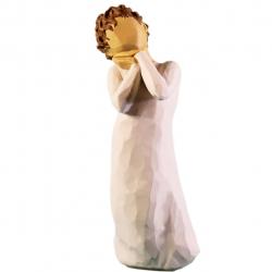 مجسمه امین کامپوزیت مدل عشق آسمانی کد 119 (کرم)