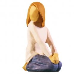 مجسمه امین کامپوزیت مدل کودک شاد کد 54