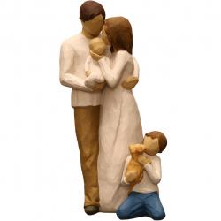 مجسمه امین کامپوزیت مدل Family Grouping کد 549 بسته دو عددی