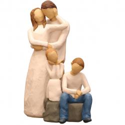 مجسمه امین کامپوزیت مدل Family Grouping کد 551 بسته دو عددی