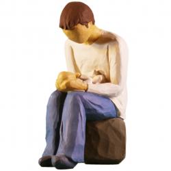مجسمه امین کامپوزیت مدل پدرجدید کد 4