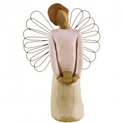 مجسمه امین کامپوزیت مدل فرشته هدیه کد 38/1