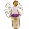 مجسمه امین کامپوزیت مدل فرشته شادی ساده کد 88/1 (کرم)