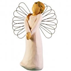 مجسمه امین کامپوزیت مدل فرشته در جشن کد 110/1 (کرم)