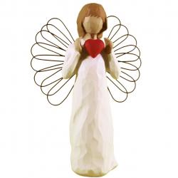 مجسمه امین کامپوزیت مدل فرشته شور عشق کد 52/1 (کرم)