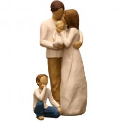 مجسمه امین کامپوزیت مدل Family Grouping کد526 بسته دوعددی