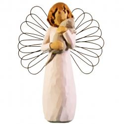 مجسمه امین کامپوزیت مدل Angel Of With Affection کد 118/1