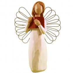 مجسمه امین کامپوزیت مدل فرشته یادگیری عشق کد 39/1 (کرم)