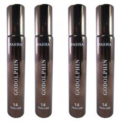 عطر جیبی مردانه پاشا مدل Godolphin  مجموعه 4 عددی حجم 20 میلی لیتر