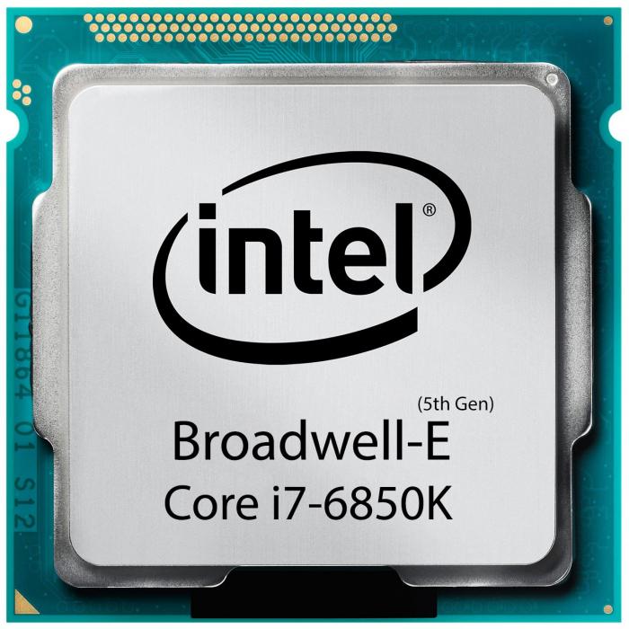 پردازنده مرکزی اینتل سری Broadwell مدل Core i7-6850K