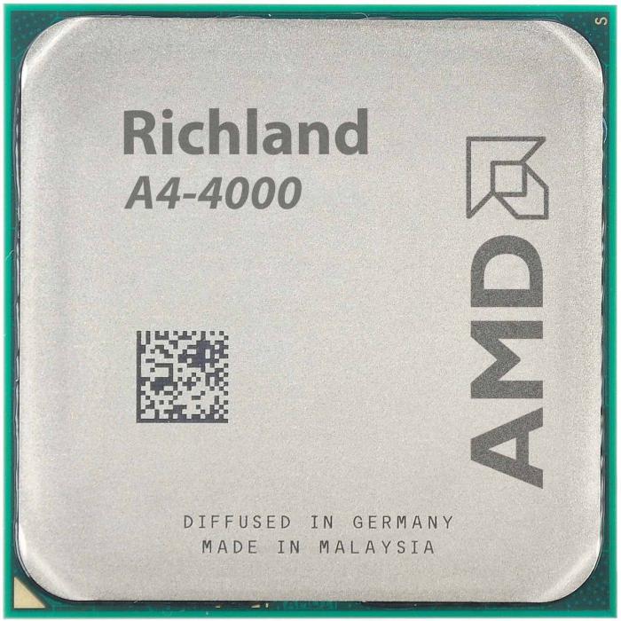پردازنده مرکزی ای ام دی مدل Richland A4-4000