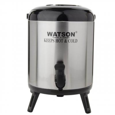 کلمن واتسون ظرفیت8 لیتری (مشکی - نقره ای)