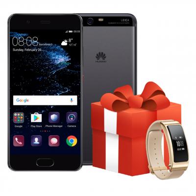 گوشی موبایل هوآوی مدل P10 VTR-L29 دو سیم کارت به همراه دستبند هوشمند هوآوی