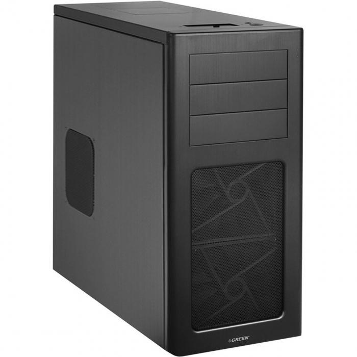 کیس کامپیوتر گرین مدل Alumin
