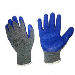 دستکش ایمنی او ایکس مدل SQUIPMENT (خاکستری - آبی)