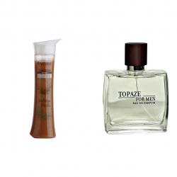 پک 2 عددی استاویتا طرح 73 شامل ادوپرفیوم مردانه استاویتا مدل Topaz و شامپو ترمیم کننده انرژی مدل Hair Repair shampoo Melissa