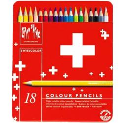 مداد آبرنگی 18 رنگ کارن داش مدل Swiss Color (چند رنگ)