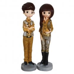 مجسمه طرح دختر و پسر  کد 020020134