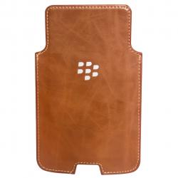 کیف چرمی بلک بری مدل Holster Leather مناسب برای گوشی موبایل بلک بری DTEK50 (قهوه ای روشن)