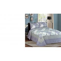 سرویس خواب ال سی وایکیکی مدل Home Collection-012 - یک نفره 3 تکه (سبز - آبی)