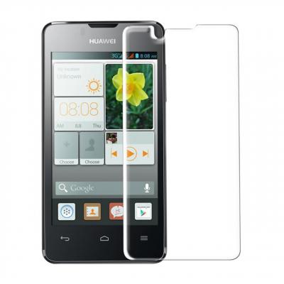 محافظ صفحه نمایش شیشه ای مدل Tempered مناسب برای گوشی موبایل هوآوی Y360 (بی رنگ شفاف)