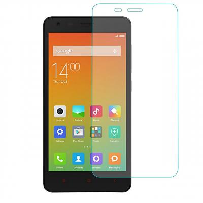 محافظ صفحه نمایش شیشه ای تمپرد مناسب برای گوشی موبایل شیاومی Redmi 2 (بی رنگ شفاف)