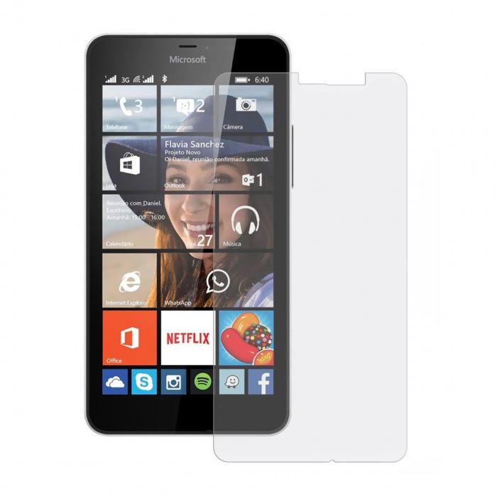 محافظ صفحه نمایش شیشه ای تمپرد مناسب برای گوشی موبایل مایکروسافت لومیا 532