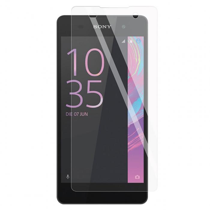 محافظ صفحه نمایش شیشه ای تمپرد مناسب برای گوشی موبایل سونی Xperia E5